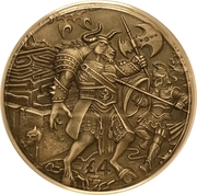 4 Pounds - Elizabeth II (Minotaur) – reverse