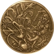 4 Pounds - Elizabeth II (The Hydra) – reverse