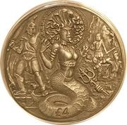 4 Pounds - Elizabeth II (Medusa) – reverse