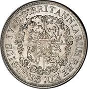 ½ Dollar - George IV – obverse