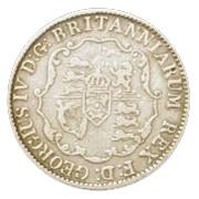 ⅛ Dollar - George IV – obverse