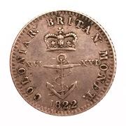 1/16 Dollar - George IV – reverse