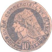 10 Centimes (Brive) – obverse