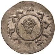 Denar - Bretislaus II & Vratislaus II – reverse