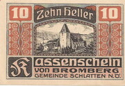 10 Heller (Bromberg) – obverse