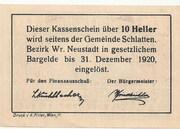 10 Heller (Bromberg) – reverse