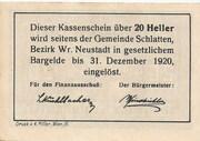 20 Heller (Bromberg) -  reverse