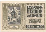 50 Heller (Bromberg) – obverse