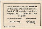 50 Heller (Bromberg) -  reverse