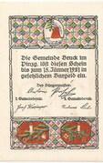 ½ Krone (Bruck im Pinzgau) – reverse