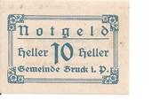 10 Heller (Bruck im Pinzgau) -  obverse