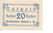 20 Heller (Bruck im Pinzgau) -  obverse