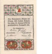 90 Heller (Bruck im Pinzgau) – obverse