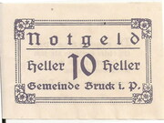 10 Heller (Bruck im Pinzgau) – obverse
