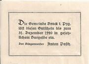 10 Heller (Bruck im Pinzgau) – reverse