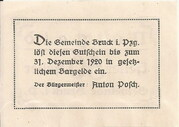 50 Heller (Bruck im Pinzgau) – reverse