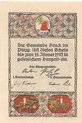 75 Heller (Bruck im Pinzgau) – reverse