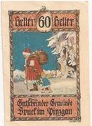 60 Heller (Bruck im Pinzgau) – obverse