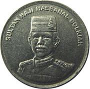 5 Sen - Hassanal Bolkiah (2nd portrait) -  obverse