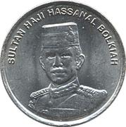 10 Sen - Hassanal Bolkiah (2nd portrait) -  obverse