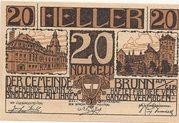 20 Heller (Brunn am Gebirge) – obverse
