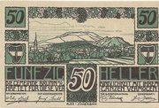 50 Heller (Brunn am Gebirge) – obverse
