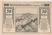 50 Heller (Brunnenthal) – obverse