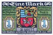 1 Mark (Verein für Handel, Gewerbe und Industrie) – obverse