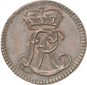 1 Pfennig - Ludwig Rudolf – obverse