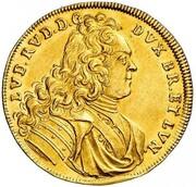 1 Ducat - Ludwig Rudolf (Reformation) – obverse