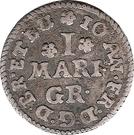 1 Mariengroschen - Johann Friedrich – obverse