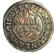 2 Mariengroschen - Georg – reverse