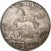 2¼ Thaler - Johann Friedrich (Harz - Ausbeute - Löser) – reverse