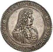 2 Thaler - Ernst August Bischof von Osnabrück – obverse