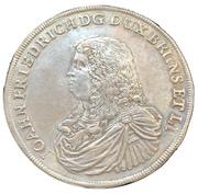 1 Thaler - Johann Friedrich – obverse