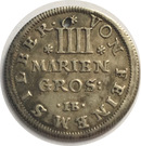 4 Mariengroshen - Ernst August – reverse