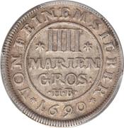 4 Mariengroschen - Ernst August – reverse