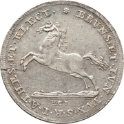 1 Thaler - George I – reverse