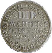 4 Mariengroschen - George III – obverse