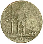 1 Pfenning - George II – obverse