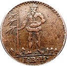 1 Pfenning - George III – obverse