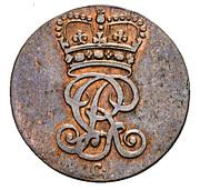 1½ Pfenning - George III – obverse
