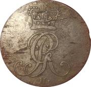 1 Pfenning - Georg III – obverse