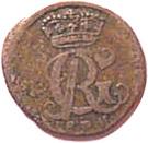 4 Pfenning - George II – obverse