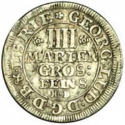 4 Mariengroschen - George Ludwig – obverse