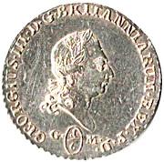 ⅙ Thaler - George III – obverse