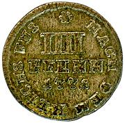 4 Pfennig - George III. – reverse