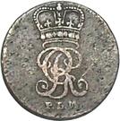 2 Pfenning - George III – obverse