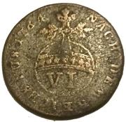 6 Pfennig - George III – reverse