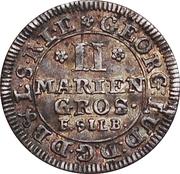2 Mariengroschen - George I – obverse